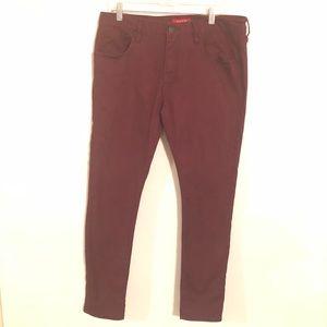 Guess Medium Rise Skinny Scotch Fit Jeans 34 x 32